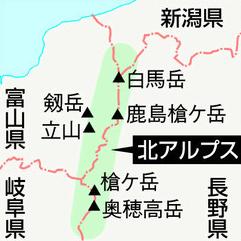 北アルプス(飛騨山脈)