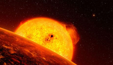太陽に割れ目が発見される