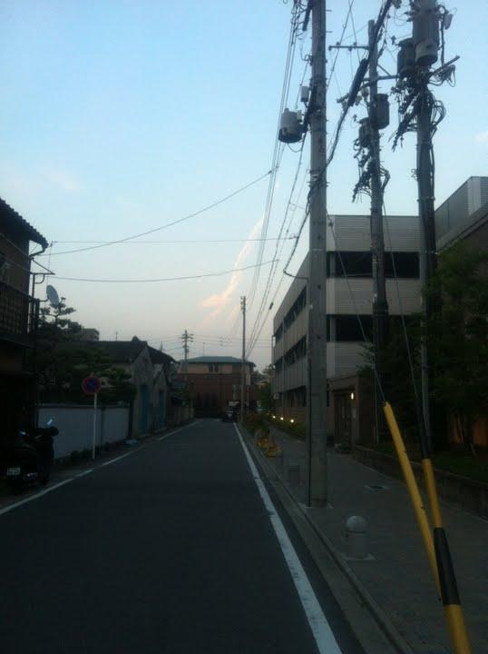 名古屋 横浜 東京 各地で地震雲