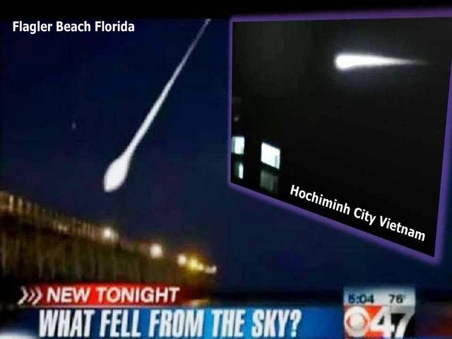 フロリダにUFO墜落