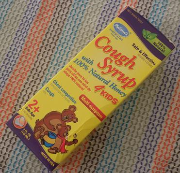 Hyland's Cough syrup 4 kids