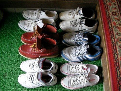 でかい靴集合③