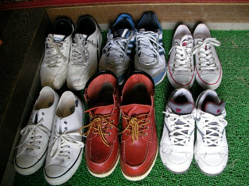 でかい靴集合②