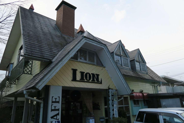 テラス ライオン カフェ