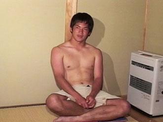 [男のプリケツ] ゲイ動画:純情体育会系大学4年男子可愛いチンポでGO !!