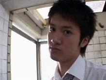 ゲイ動画:俺はフェラ願望のスーツリーマン顔射希望っす !!