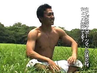 ゲイ動画:体育会男児20歳、男3人初体験物語 !!