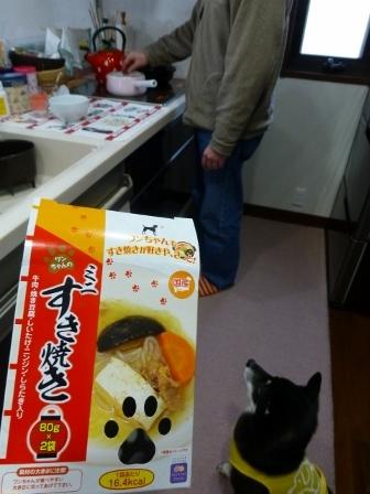 わんちゃんのミニすき焼き6