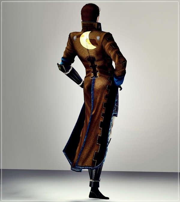 Sims3 戦国BASARA 片倉小十郎 衣装 配布しました