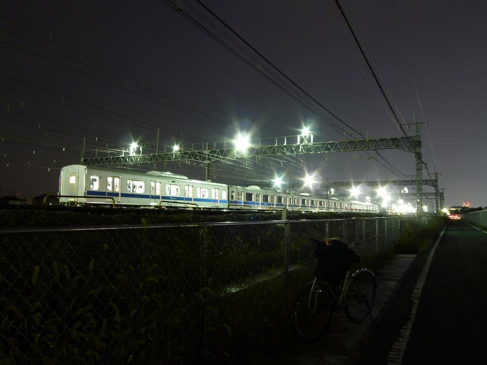 11/16 鉄道mini撮影記 小田急4000形の甲種輸送を撮影