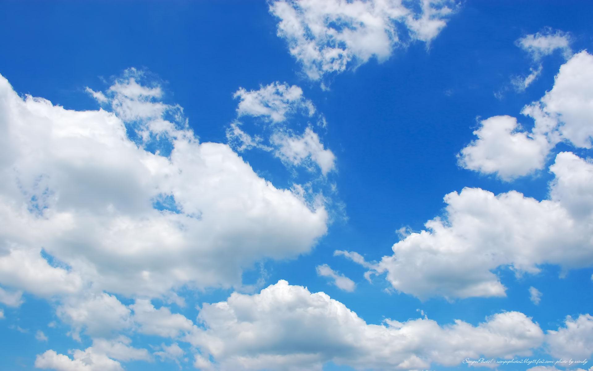 さんぽふぉと Sanpophoto 無料壁紙 青空と雲