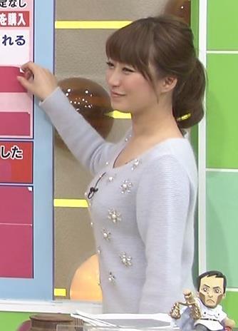 枡田絵理奈 巨乳を横から見るとエロ過ぎキャプ画像(エロ・アイコラ画像)