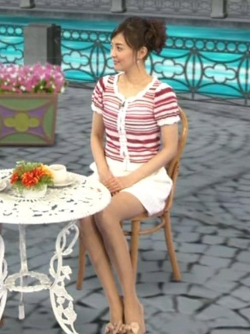 小林麻耶 ミニスカートキャプ・エロ画像