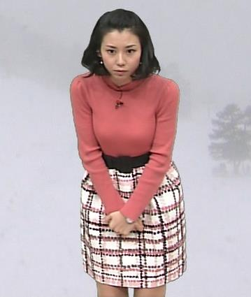 杉野真実 乳寄せキャプ画像(エロ・アイコラ画像)