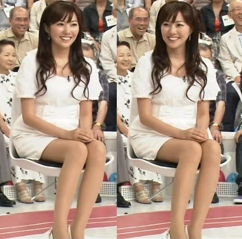 松本あゆ美 美人キャスターのミニスカートキャプ画像(エロ・アイコラ画像)