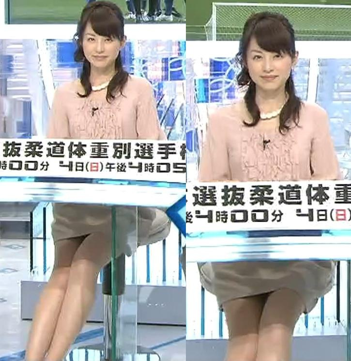 平井理央 きわどいミニスカートキャプ画像(エロ・アイコラ画像)