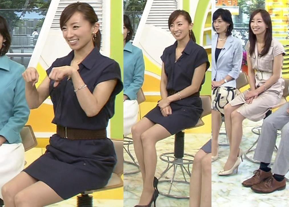 西尾由佳理 かわいい仕草とエロいミニスカートキャプ画像(エロ・アイコラ画像)