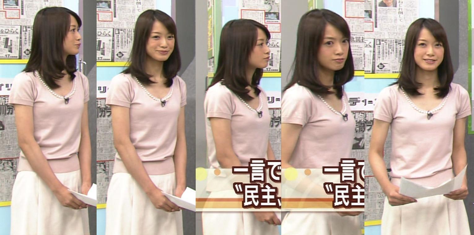 八木麻紗子 激カワ女子アナの胸のふくらみキャプ画像(エロ・アイコラ画像)