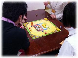 2011年2月親子ゲーム&お寿司会:ねことねずみの大レース