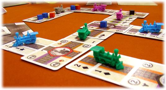 レイルウェイズワールド:カードゲーム:近景