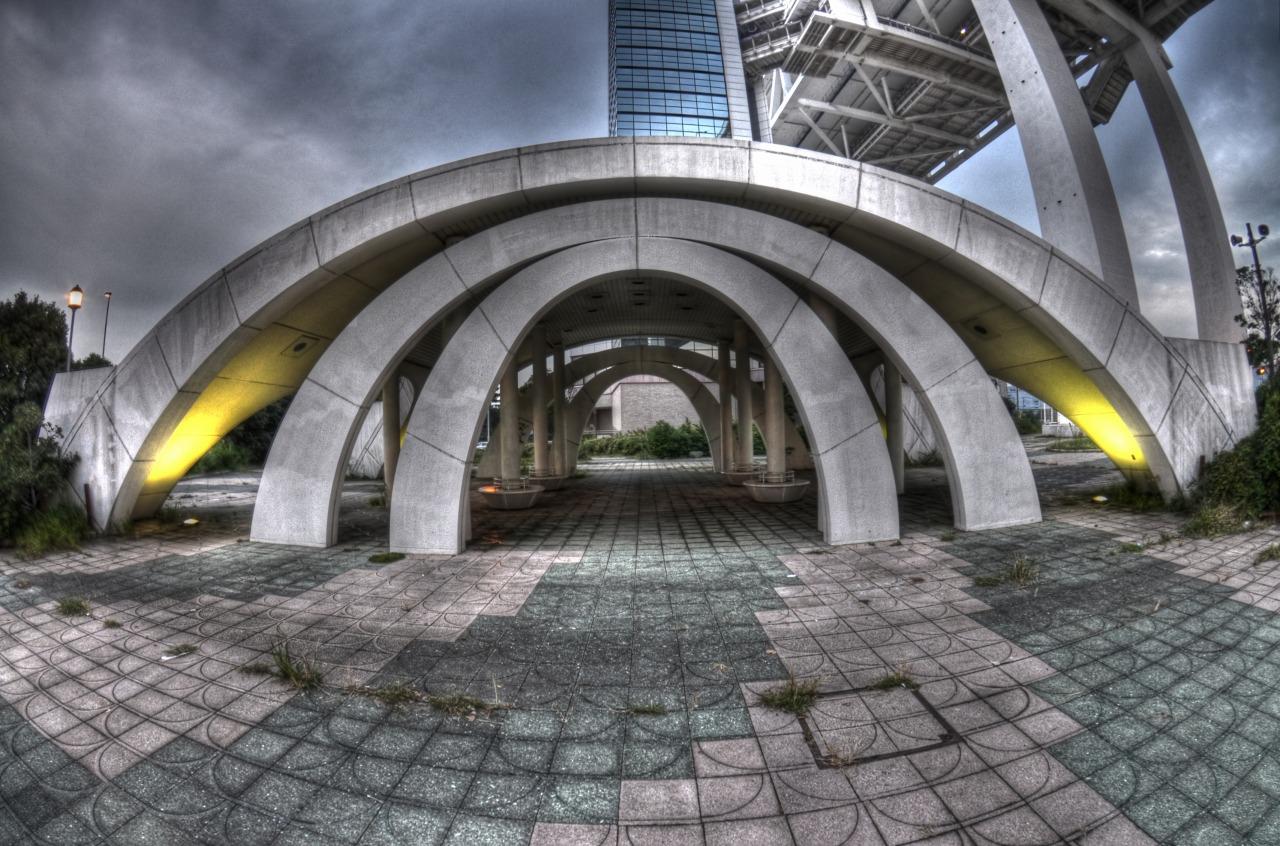スカイウォーク広場のオブジェ