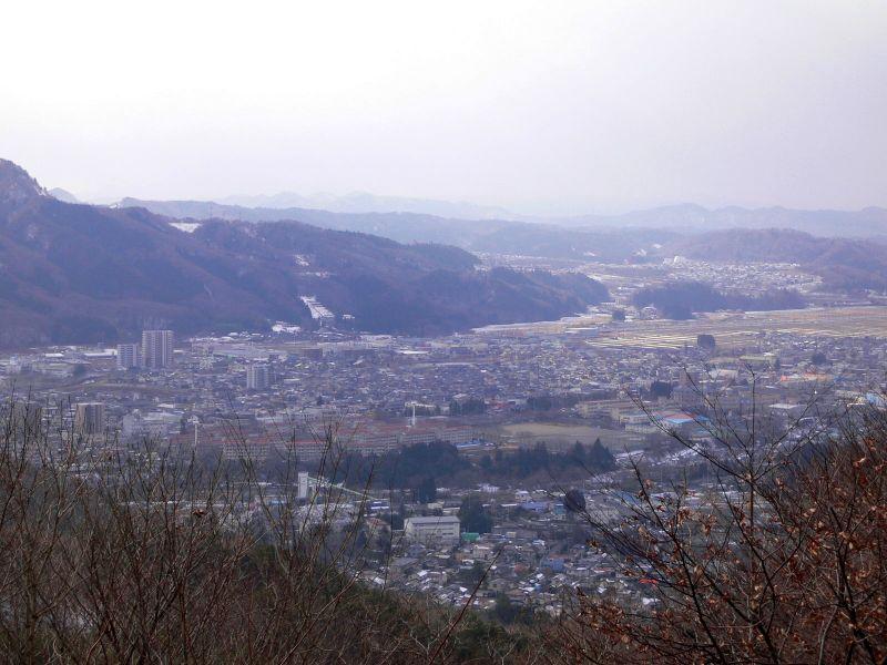 頂上からの絶景
