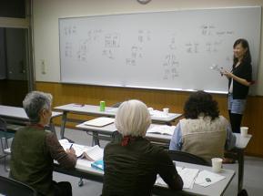 ウセイさんからホテルで使う中国語も学習