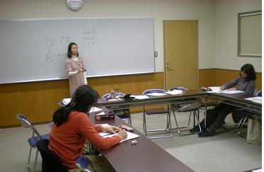 張さんの一生懸命な教室、有難うございました。