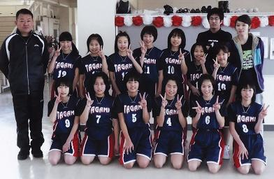 第二位に輝いた女子チームの喜び・・・