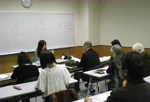 中国語の左さん、とても熱心で優しい指導を頂いています。