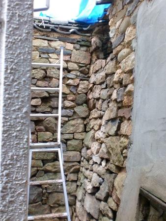 石塀の補修