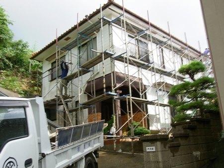 A邸リフォーム工事~外壁改修