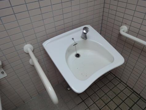 お彼岸明けでトイレの