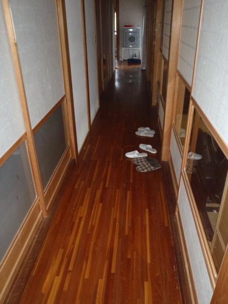 S邸廊下床リフォーム