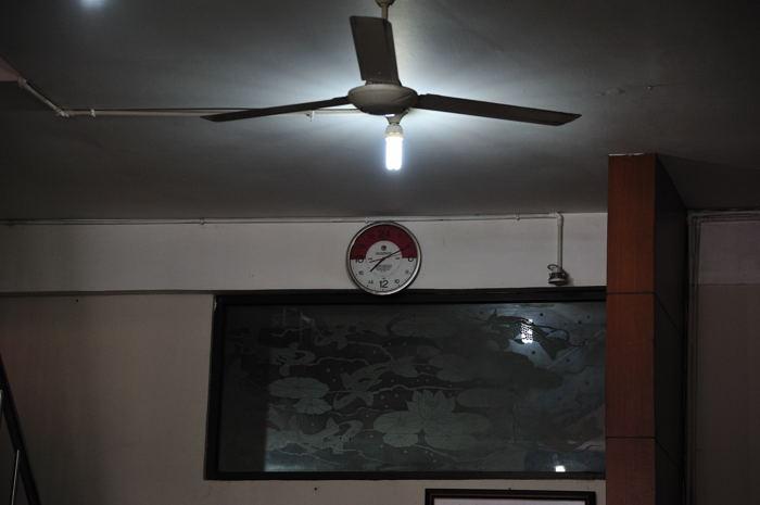 バリ島 ~珍しい時計~