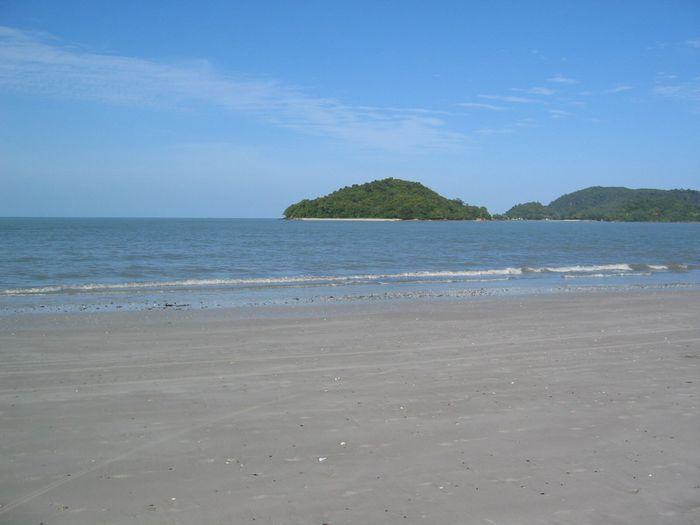 ランカウイの海。