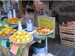 シチリアのしぼりたてオレンジジュースを飲みたくなったひとはぽちっと♪