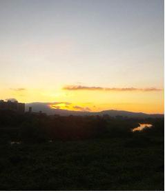 日の出手前